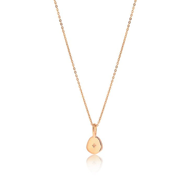 Linda Tahija Vega Necklace, Rose Gold