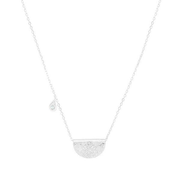 By Charlotte Calm Your Soul necklace (March),  silver