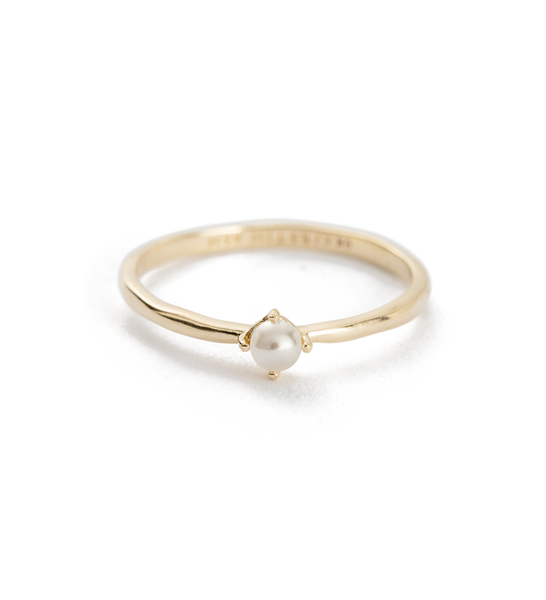 Kirstin Ash Moon Tide Pearl Ring, 9k gold