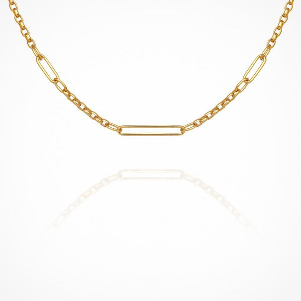 Temple of the Sun Niki Necklace, Gold