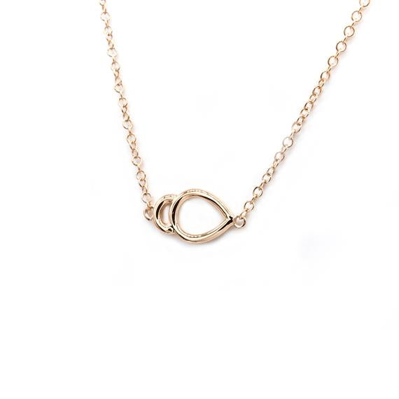 Natalie Marie Oana Necklace, rose gold