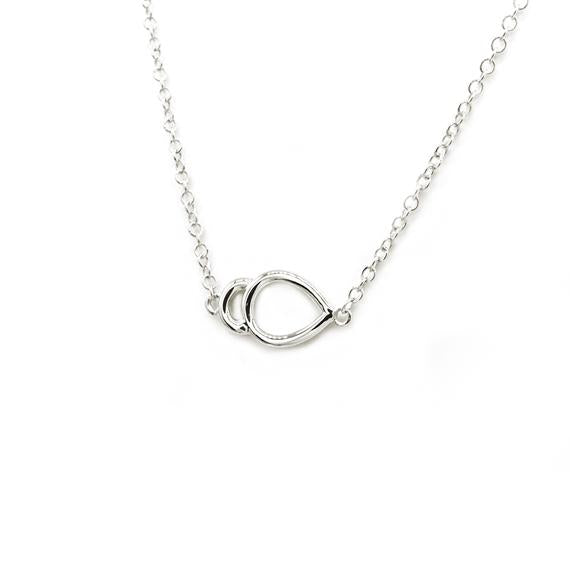 Natalie Marie Oana Necklace, silver