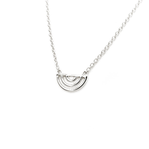 Natalie Marie Ochre necklace, silver