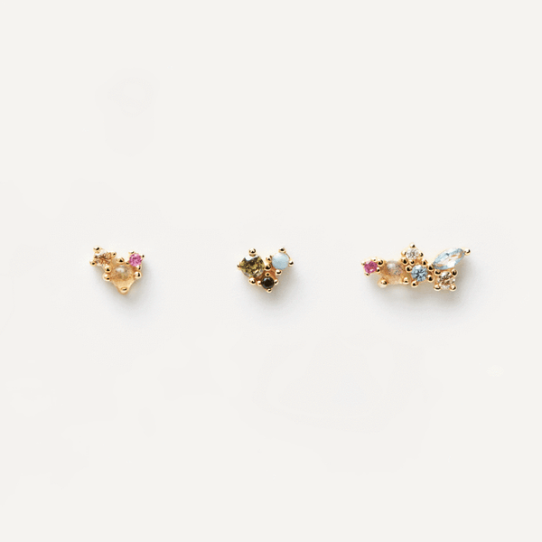 PD Paola Palette Earring Set, Gold