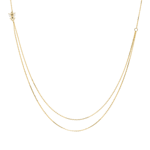 PD Paola Breeze Necklace, Gold
