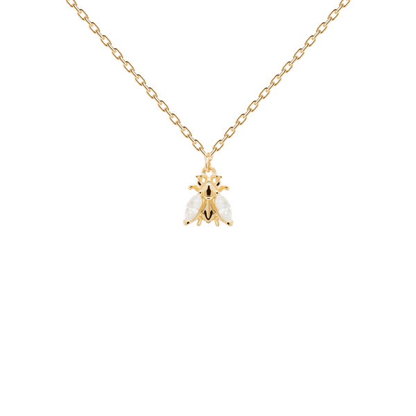 PD Paola Buzz Necklace, Gold
