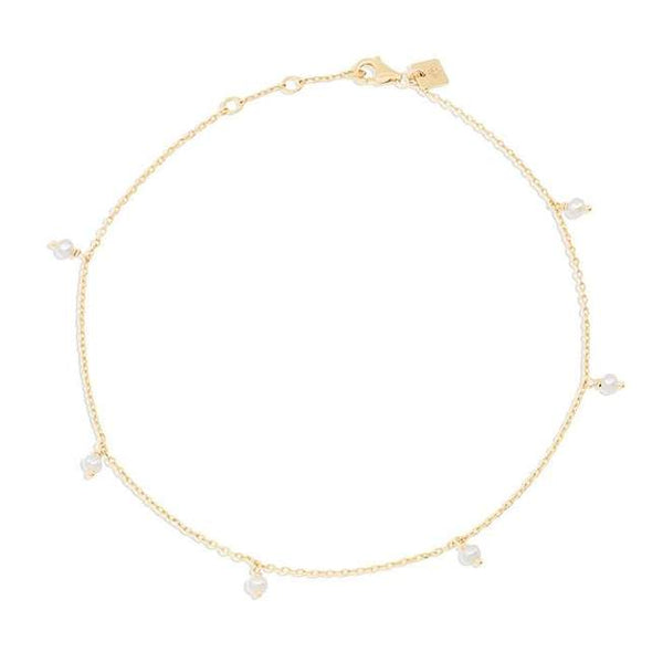 By Charlotte Peace Anklet, Gold