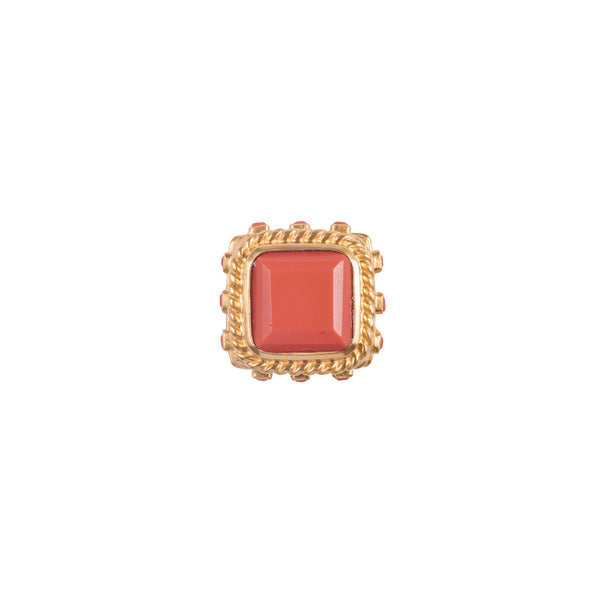 Valere Poseidon ring, Coral
