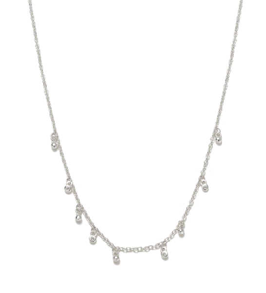 Kirstin Ash Moon Sea Mist necklace, silver