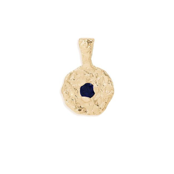 By Charlotte September Sapphire Birthstone Pendant: Gold/ Rose Gold/ Silver