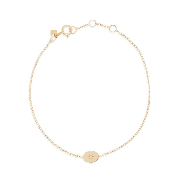 By Charlotte 14k Gold Shine Your Light Bracelet