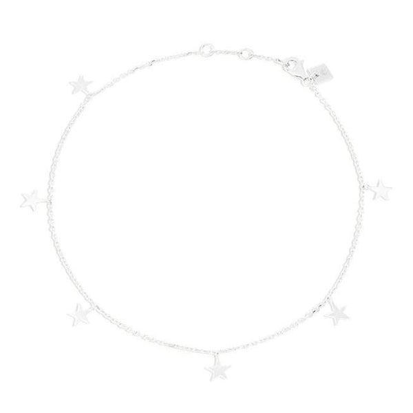 By Charlotte Star Bright Anklet, Silver