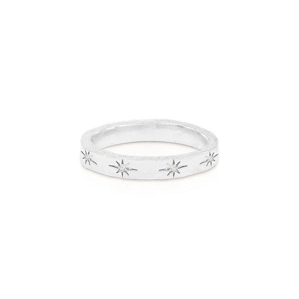 By Charlotte Stardust Ring, Silver