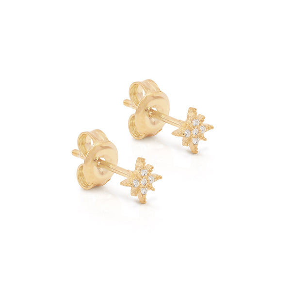 By Charlotte Starlight Earrings, Gold