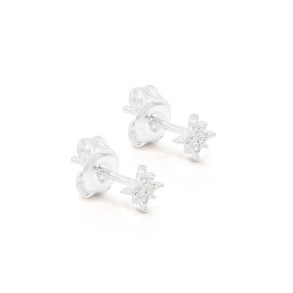 By Charlotte Starlight Earrings, Silver