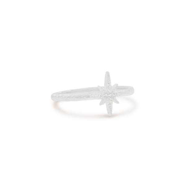 By Charlotte Starlight Ring, Silver