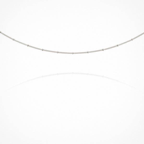Temple of the Sun Fine Choker Chain, Silver