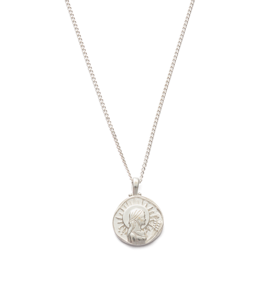 Kirstin Ash Virgo Zodiac Necklace, Silver