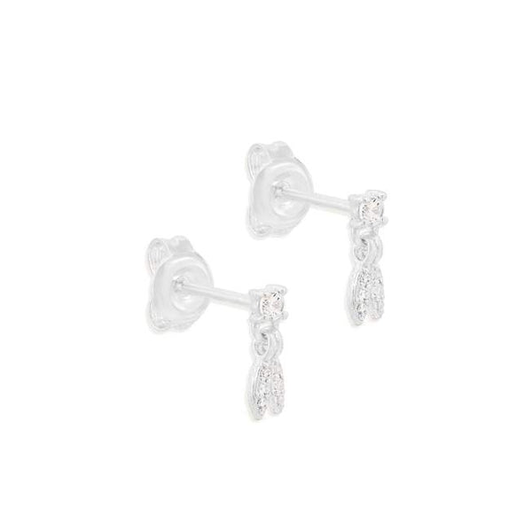 By Charlotte Wish Earrings, Silver