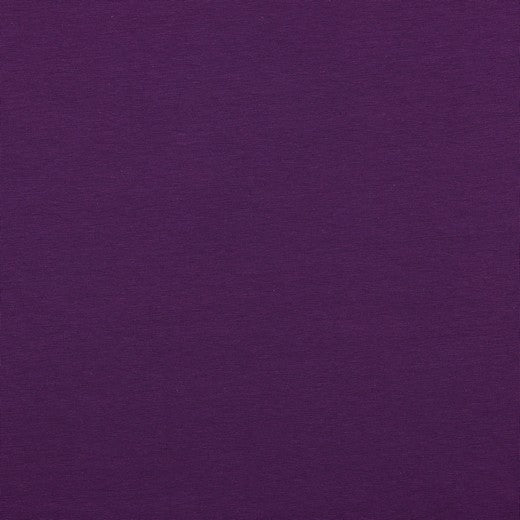 Mid Purple, Solids, Jersey Knit Fabric by the 1/2 Meter, European knits (4562878464060)