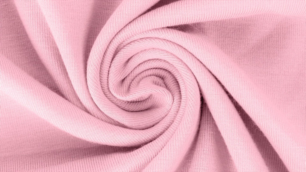 Light Pink, Solids 2.0, Jersey Knit Fabric by the 1/2 Meter, European knits (3813199216700)