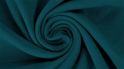 Teal, Solids 2.0, Jersey Knit Fabric by the 1/2 Meter, European knits (3761468932156)