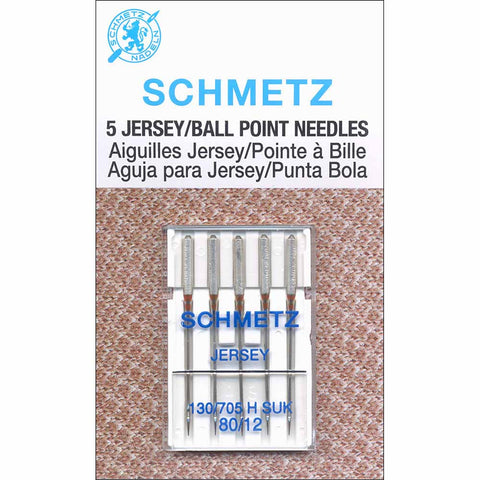 SCHMETZ Ball Point Needles - 80/12