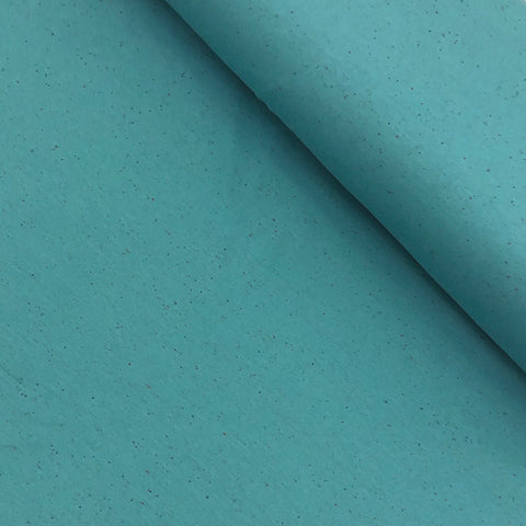 Sprinkles - Robin's Egg Blue - Brushed Sweat | Knit Fabric by the 1/2 Meter| (4448654753852)