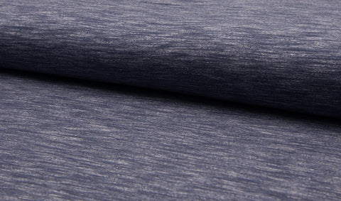Melange Jogging - Jeans, Sweatshirt Knit Fabric by the 1/2 Meter, European knits (11605880143)