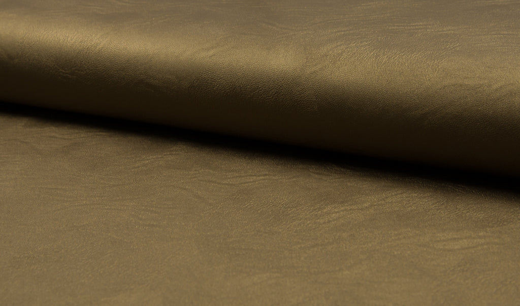 Bronze,  Jersey Leather  by the 1/2 Meter, European knits (487908507686)