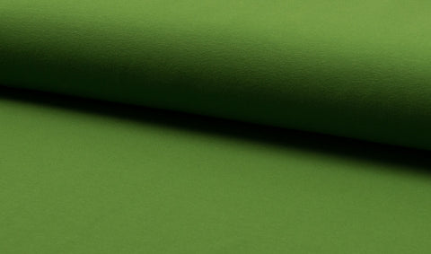 Grass Green, Solids, Oeko-Tex 100 Certified, Knit Fabric by the 1/2 Meter, European knits