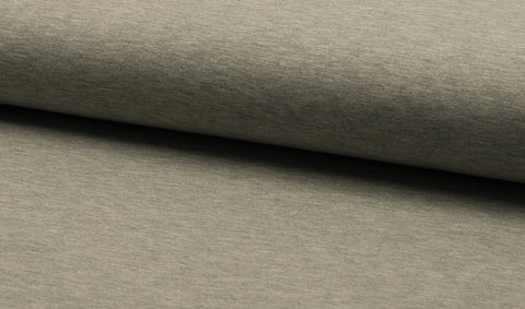 Light Grey, Solids, French Terry Brushed Knit Fabric by the 1/2 Meter, European knits