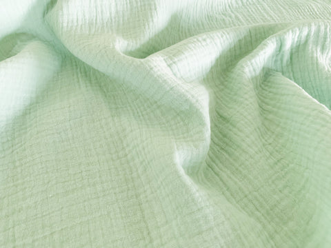 Mint, Double Gauze |per 1/2 meter| (11684634959)