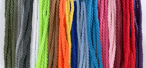 Twisted 8 mm Cord -3 metre Pack (6278639747257)
