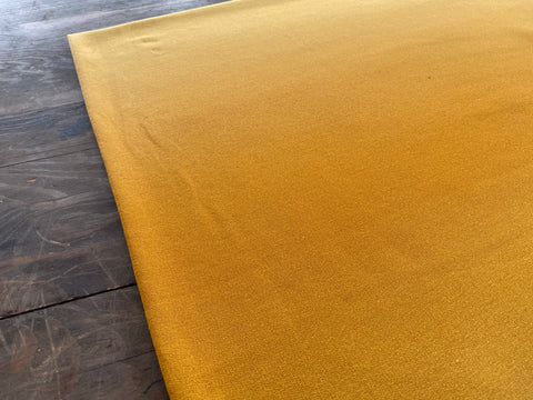 Ombre in Mustard, per 1/2 meter, French Terry, European knits (6148572905657)