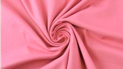 Raspberry Cream, Solids 2.0, Jersey Knit Fabric by the 1/2 Meter, European knits