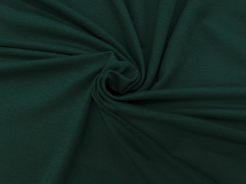Evergreen- Bamboo FRENCH TERRY Knit | PER 1/2 Meter | 270 GSM (4467052773436)