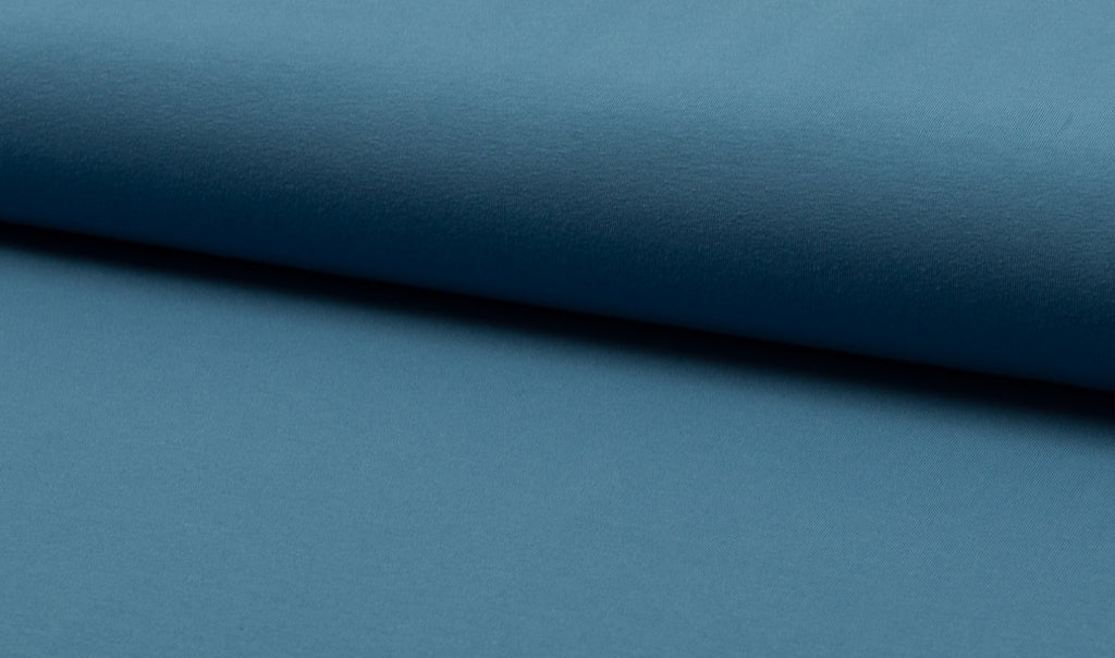 Jeans, Solids, Oeko-Tex 100 Certified, Knit Fabric by the 1/2 Meter, European knits