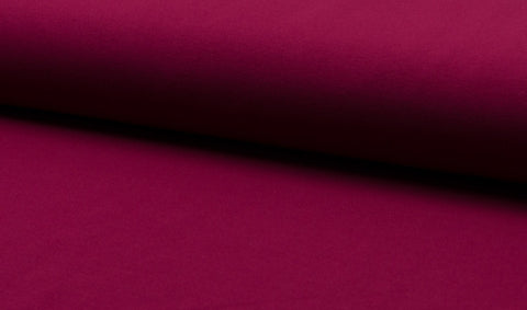 Bordo Wine, Solids, Oeko-Tex 100 Certified, Knit Fabric by the 1/2 Meter, European knits