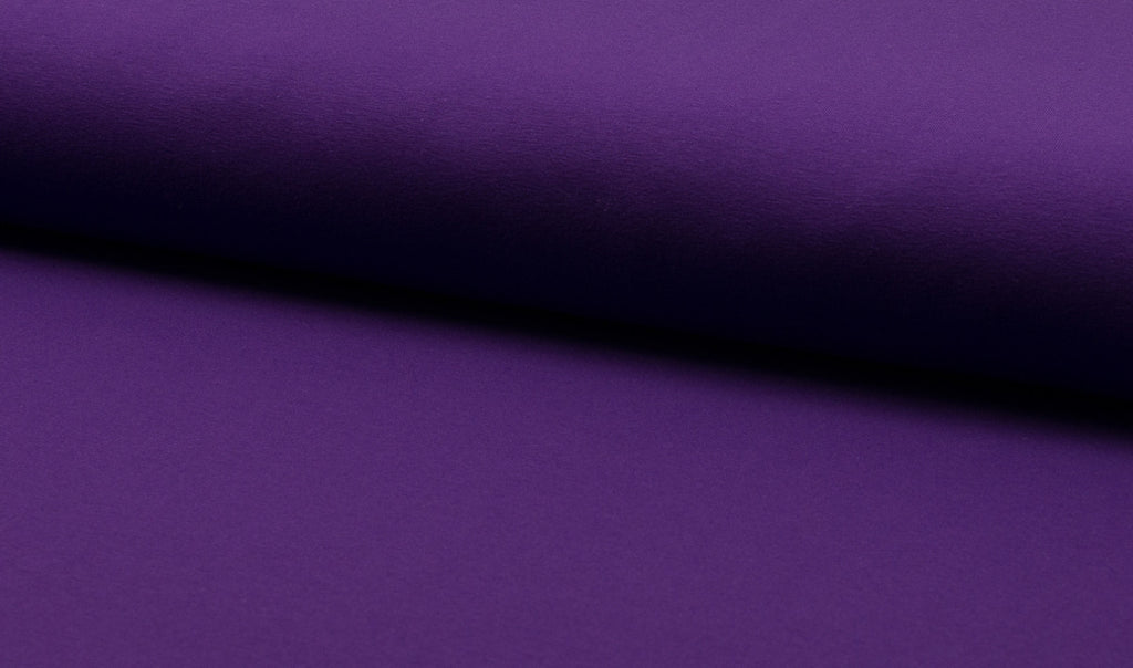 Purple, Solids, Jersey Knit Fabric by the 1/2 Meter, European knits (11794050767)