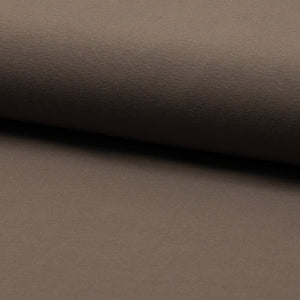 Taupe, Solids, Oeko-Tex 100 Certified, Knit Fabric by the 1/2 Meter, European knits