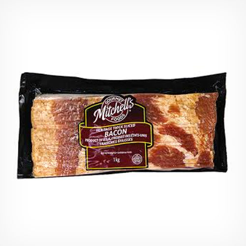 Bacon, Heritage Thick Sliced, 1kg