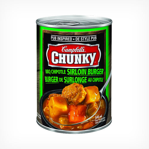 Campbell's Chunky BBQ Chipotle Sirloin Burger Soup 540ml