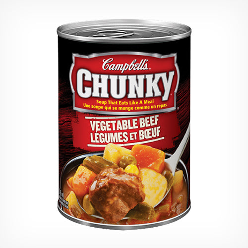 Campbell's Chunky Vegetable Beef 540ml