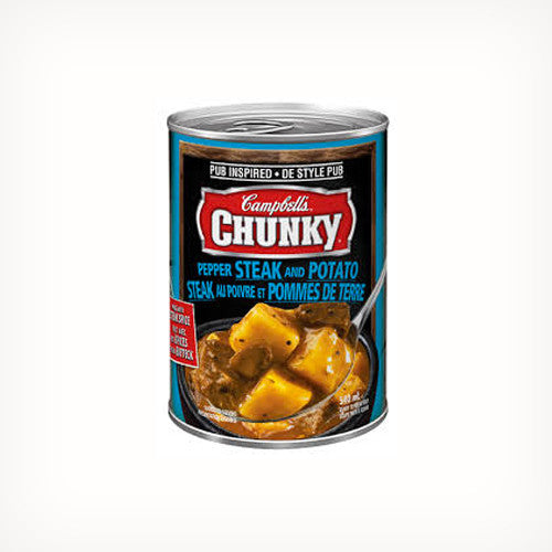 Campbell's Chunky Pepper Steak and Potato Soup 540ml