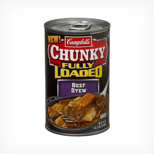 Campbell's Loaded Up Beef Soup 540 ml