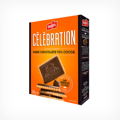 Celebration Dark Chocolate Butter Cookie  240 g