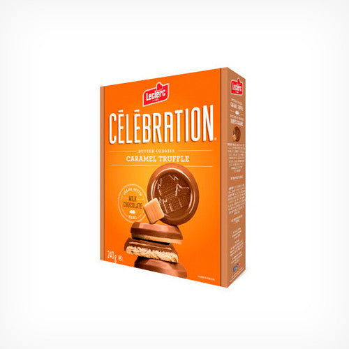 Celebration Butter Cookies Caramel Truffle 240g