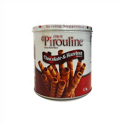 Creme de Pirouline Cream Filled Wafers Chocolate & Hazelnut Flavoured 1.1 kg
