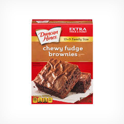 Brownie Mix - Chewy Fudge (Family Size) 520 g